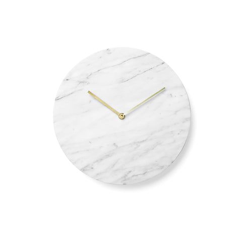 Marble Wall Clock, Accessory Clock, Menu A/S, Places and Spaces Design Ltd