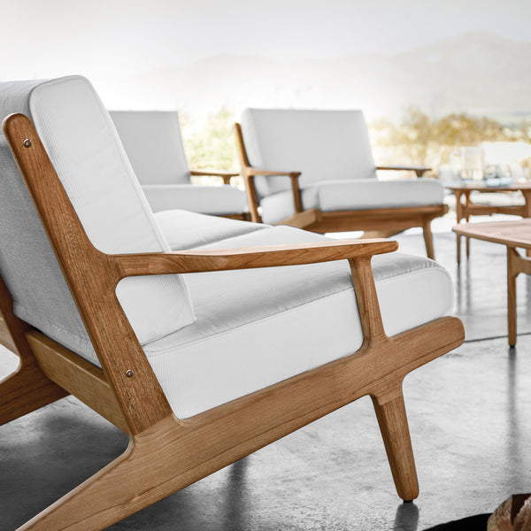 Bay Outdoor Lounge Chair, Furniture Outdoor, Gloster, Places and Spaces