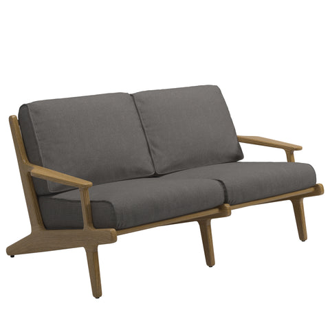 Bay Outdoor Two Seater Sofa, Furniture Outdoor, Gloster, Places and Spaces Design Ltd
