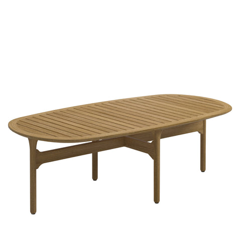 Bay Outdoor Coffee Table, Furniture Outdoor, Gloster, Places and Spaces