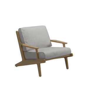 Bay Outdoor Lounge Chair, Furniture Outdoor, Gloster, Places and Spaces Design Ltd