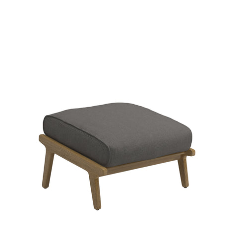 Bay Outdoor Ottoman, Furniture Outdoor, Gloster, Places and Spaces