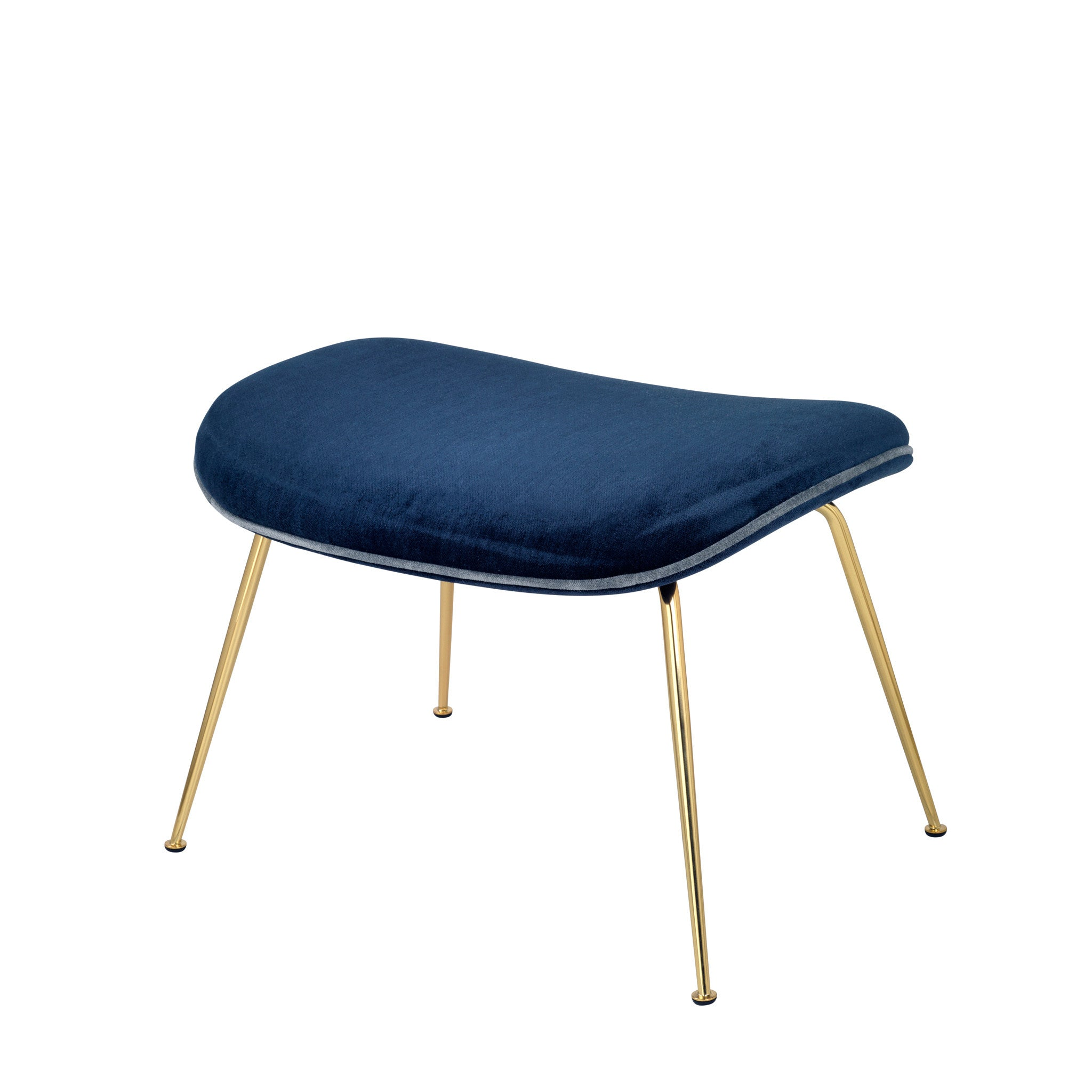 Beetle Footstool - Velluto di Cotone, Furniture Footstool, Gubi, Places and Spaces