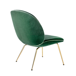 Beetle Lounge Chair - Velluto di Cotone