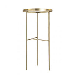 SALE - Brassplated Sidetable