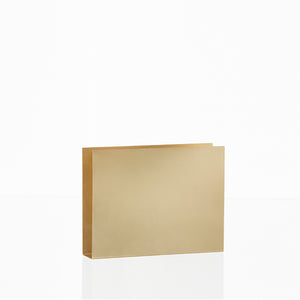 Brass Wall Square, Accessory Office, Ferm Living, Places and Spaces