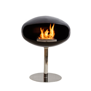 Pedestal Fireplace, Furniture Fireplace, Cocoon Fires, Places and Spaces Design Ltd