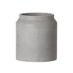 Concrete Pot - Light Grey