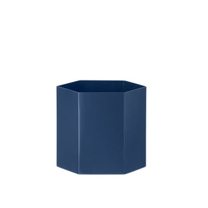 Hexagon Pot - Blue