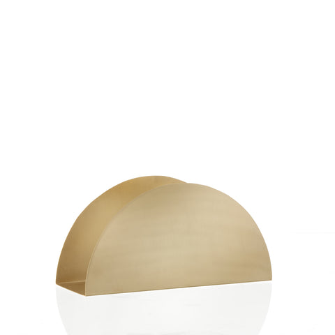 Brass Semicircle Stand, Accessory Office, Ferm Living, Places and Spaces