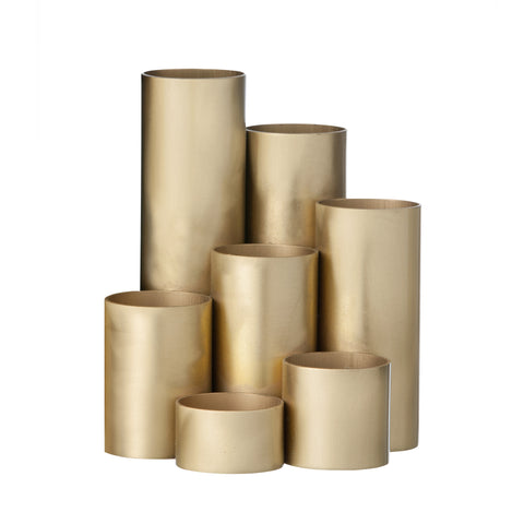 Brass Pencil Holder, Accessory Stationery, Ferm Living, Places and Spaces