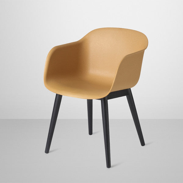 Fiber Chair - Wood Base, Furniture Dining chair, Muuto, Places and Spaces Design Ltd