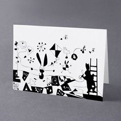 Graffiti Rabbit Card