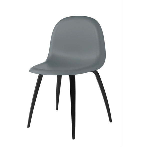 Gubi Chair with Black Beech Base