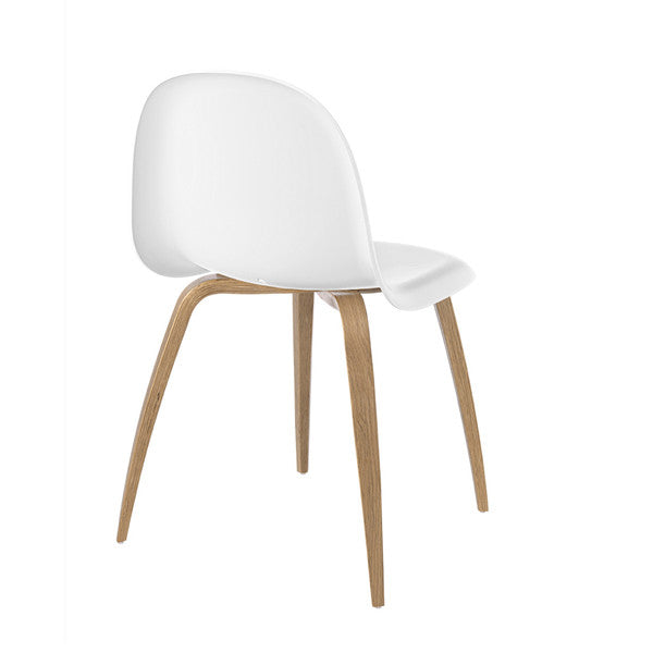Gubi Chair with Oak Base