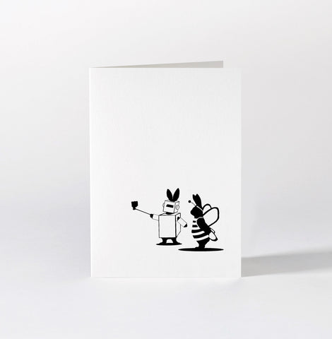 Fancy Dress Rabbit Card