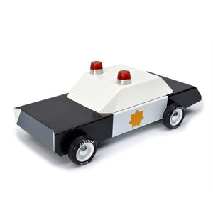 Police Cruiser wooden car