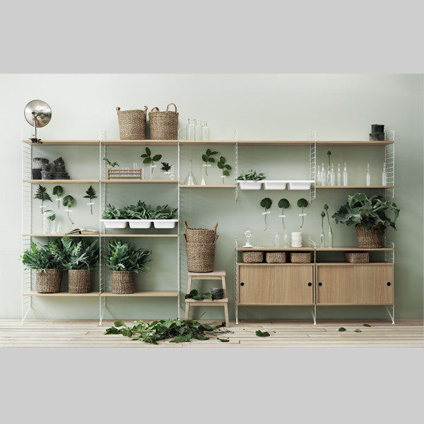 String - Side Panels, Furniture Shelf storage, String, Places and Spaces Design Ltd