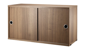 String - Cabinet sliding doors, Furniture Shelf storage, String, Places and Spaces Design Ltd