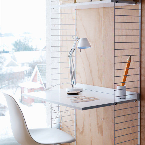 String - Work Desk, Furniture Shelf storage, String, Places and Spaces Design Ltd