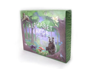 Large Alphabet Flash Cards, Nursery Wall Cards, Flash Cards,  ABC Art Cards, Montessori Toy, Waldorf Classroom, Homeschool,