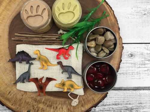 Natural Playdough Kit - Dinosaurs - SimplytoPlay