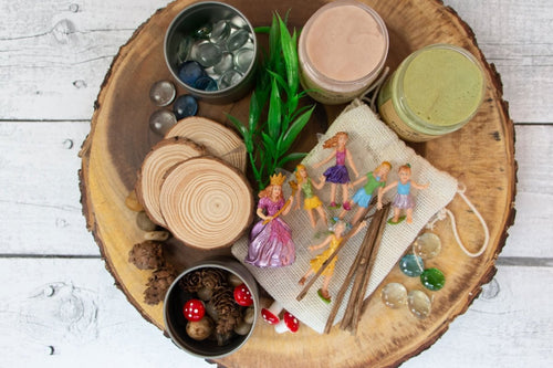 Natural Playdough Kit - Fairies - SimplytoPlay