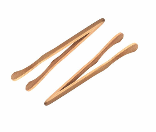 Sensory Bin Tools - Wooden Tongs 2-Pack For Sensory Bins - Montessori Toys - SimplytoPlay