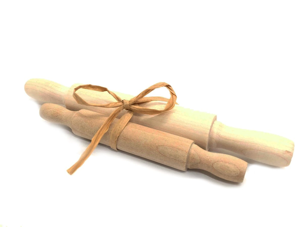 Small Wood Rolling Pin Set - SimplytoPlay
