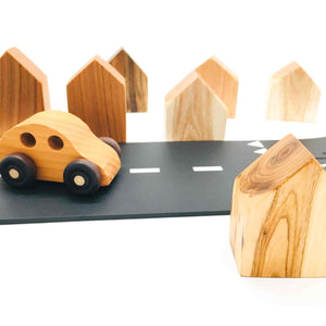 Wooden Play Houses - Various Breeds of Beautiful Wood - Montessori Waldorf Toys - SimplytoPlay