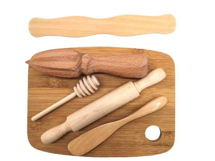 Wooden Playdough Tool Set - Ultimate Gift Set - SimplytoPlay