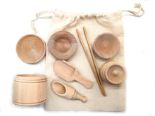 Load image into Gallery viewer, Wooden Sensory Bin Tools - Montessori Toys - SimplytoPlay