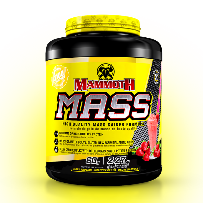 MAMMOTH MASS 5lb TUB - Strawberry & Banana Sale!