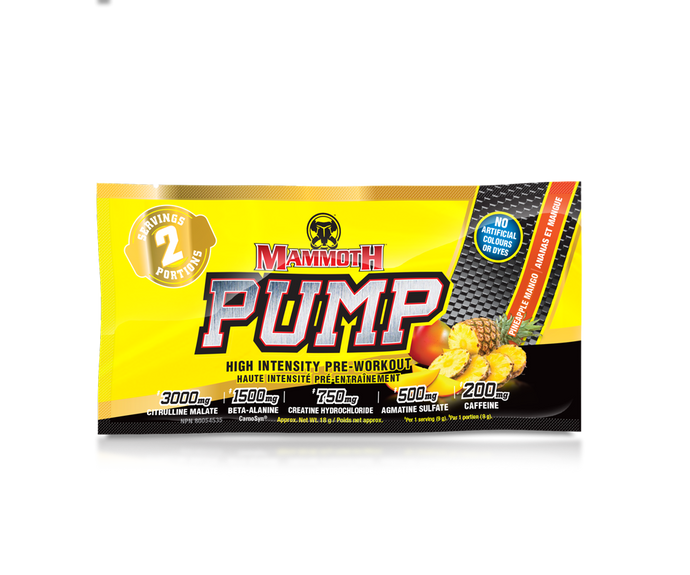 PUMP - 2 Serve - Double Scoop - 18gm