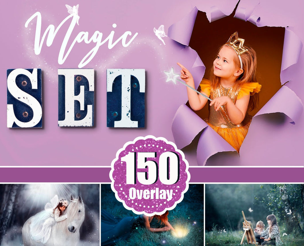 150 Magic set, light, sun, fairy dust, fairy pixie, stars, shine effect, butterfly, string lights, wing, bokeh, Photoshop Mix Overlays png