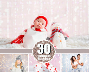 30 lights digital backdrops, Photoshop photo overlays, Gold bokeh, Holiday Lights, digital background, digital backdrop, Bokeh, jpg