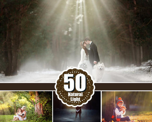 50 Natural Light Photoshop Overlays, sun overlays, light overlay, lens flare overlays,fantasy overlays, Natural Sun, Sunlight, png file
