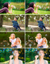 Load image into Gallery viewer, 35 soap air bubble photo Overlays, Photoshop Mix Overlay, Photo Prop, realistic nature bubble Photo effect, png file
