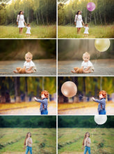 Load image into Gallery viewer, 25 Magic Balloons, digital backdrop, digital background, template scene, Photoshop Mix, png file