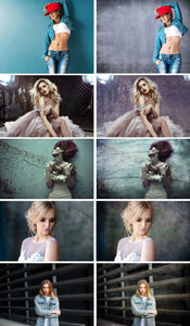 40 Grunge dark retro photo art backdrops texture, Photoshop overlay, digital backdrops, photoshop overlay, Photo overlays