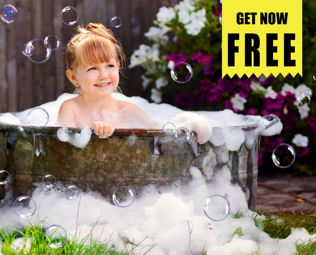FREE air bubble Photo Overlays, Photoshop overlay