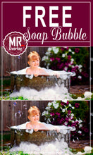 Load image into Gallery viewer, FREE air bubble Photo Overlays, Photoshop overlay