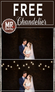 Free chandelier lamp Photo Overlays, Photoshop overlay