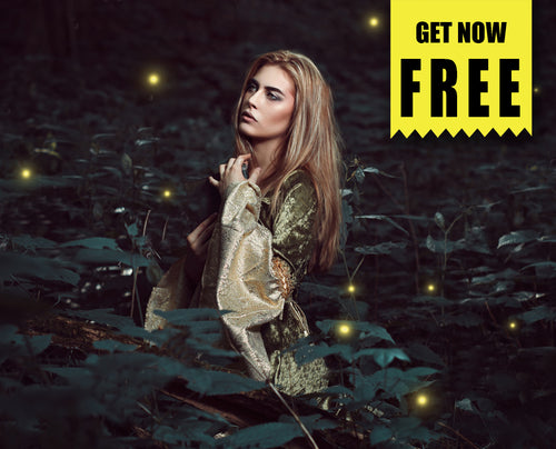 Free firefly fireflies Photo Overlays, Photoshop overlay