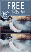 Load image into Gallery viewer, FREE fog smoke Photo Overlays, Photoshop overlay