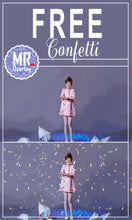 Load image into Gallery viewer, FREE confetti photo overlays, Photoshop overlay