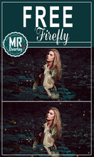 Load image into Gallery viewer, Free firefly fireflies Photo Overlays, Photoshop overlay