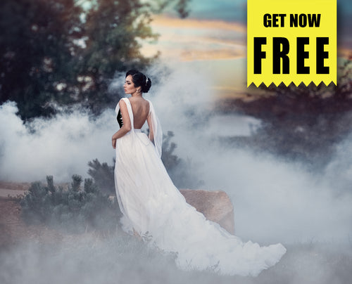 FREE fog smoke Photo Overlays, Photoshop overlay