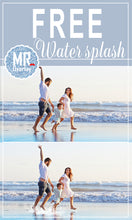 Load image into Gallery viewer, FREE Water splash photo Overlays, Photoshop overlay