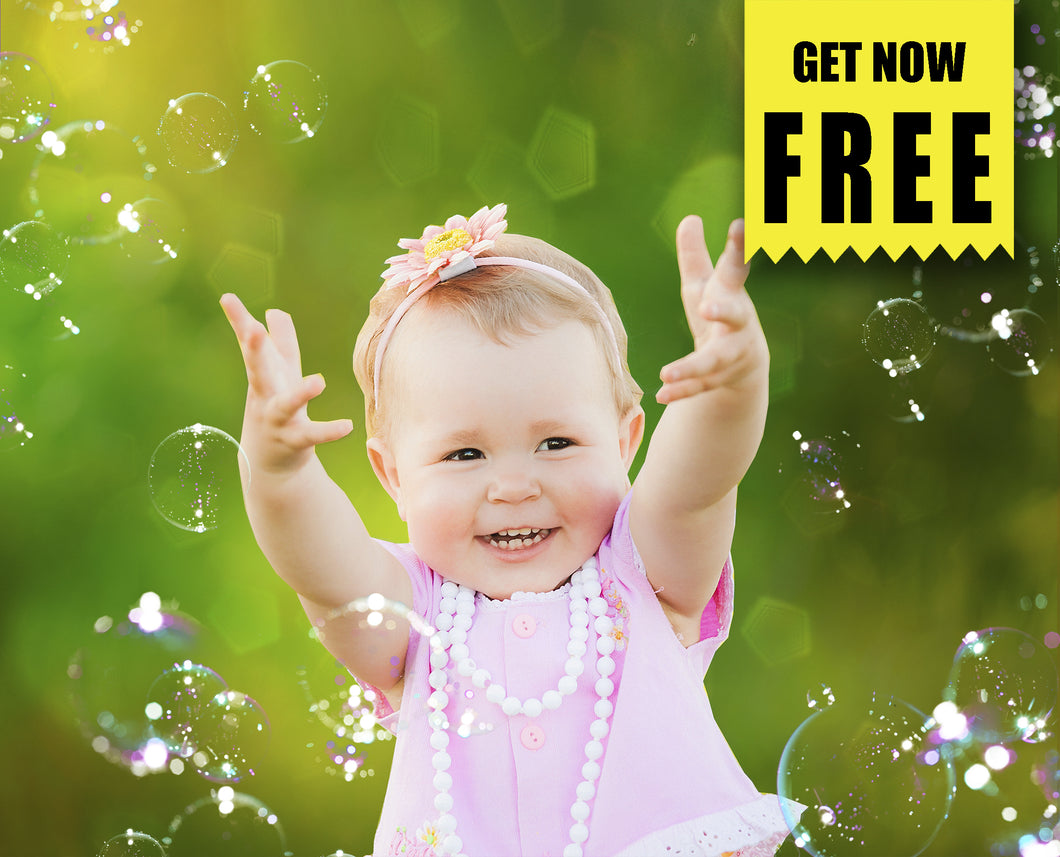 FREE bubble Photo Overlays, Photoshop overlay